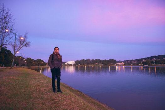 Có một buổi chiều đẹp như thế ở Hồ Xuân Hương Đà Lạt