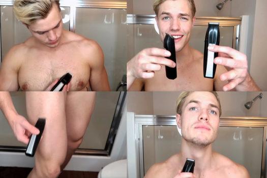 Grooming: Quy trình cắt tỉa các loại lông vào buổi sáng của một chàng trai