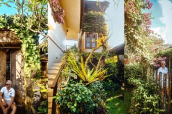 Có một khu vườn quá đỗi dễ thương ở Rumah Taman