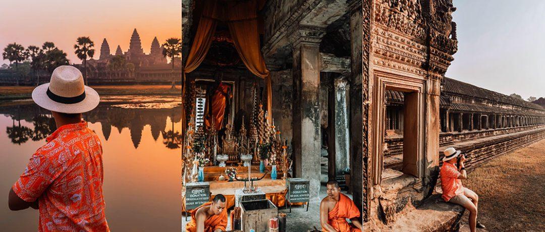 Angkor Wat Cambodia – Choáng ngợp bình minh tháp cổ
