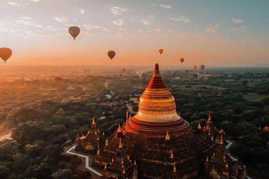 Bagan, Myanmar: Kinh nghiệm hữu ích đi ngắm bình minh, kinh khí cầu