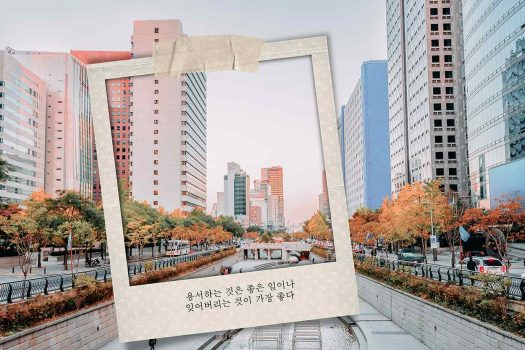 """Quotes – Những câu nói tiếng Hàn ý nghĩa để thiết kế ảnh đẹp""""bão like"""""""